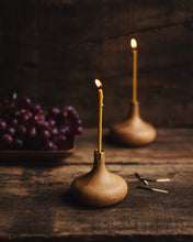 Load image into Gallery viewer, Oak Candle Holder OVO things