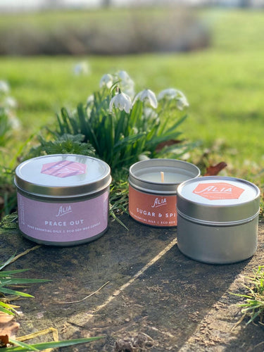 Alia luxurious Eco soy wax Candles