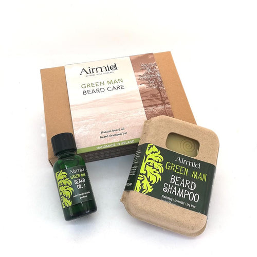 Airmid Green Man Beard Care Gift Set - Ecoanniepooh