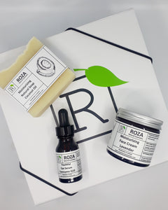 Roza Natural Skincare Facial Gift Box