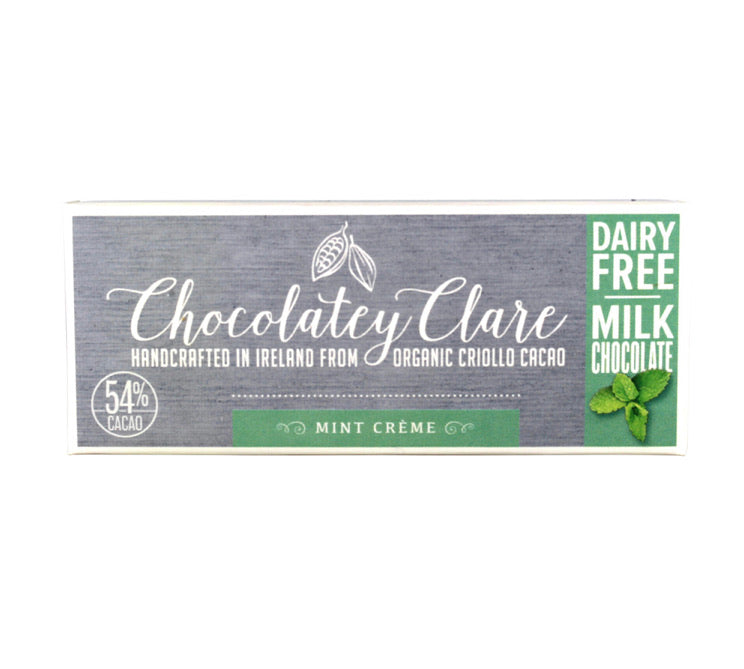 Zero waste Vegan Chocolate Bar Mint Creme - Ecoanniepooh