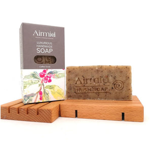 Airmid Irish Handmade Coffee & Lemon Scrub Soap - Ecoanniepooh