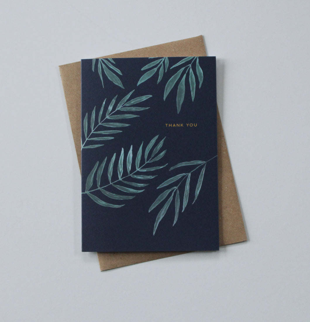 Thank You card - Ecoanniepooh