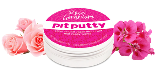 Pit Putty Aluminium Free Natural Deodorant Three Flowers
