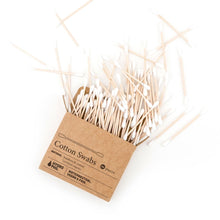 Load image into Gallery viewer, 100 Bamboo Cotton Buds
