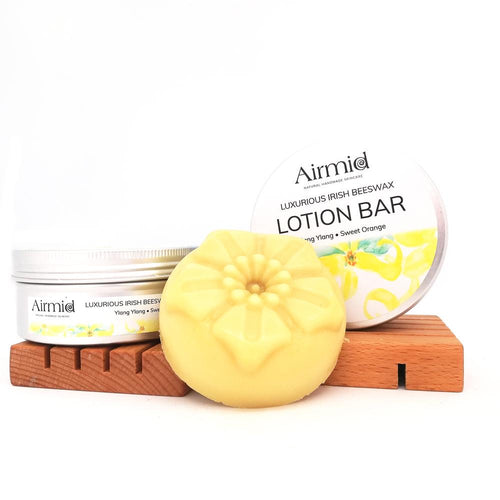 Ylang Ylang & Sweet Orange Luxury Lotion Bar - Ecoanniepooh