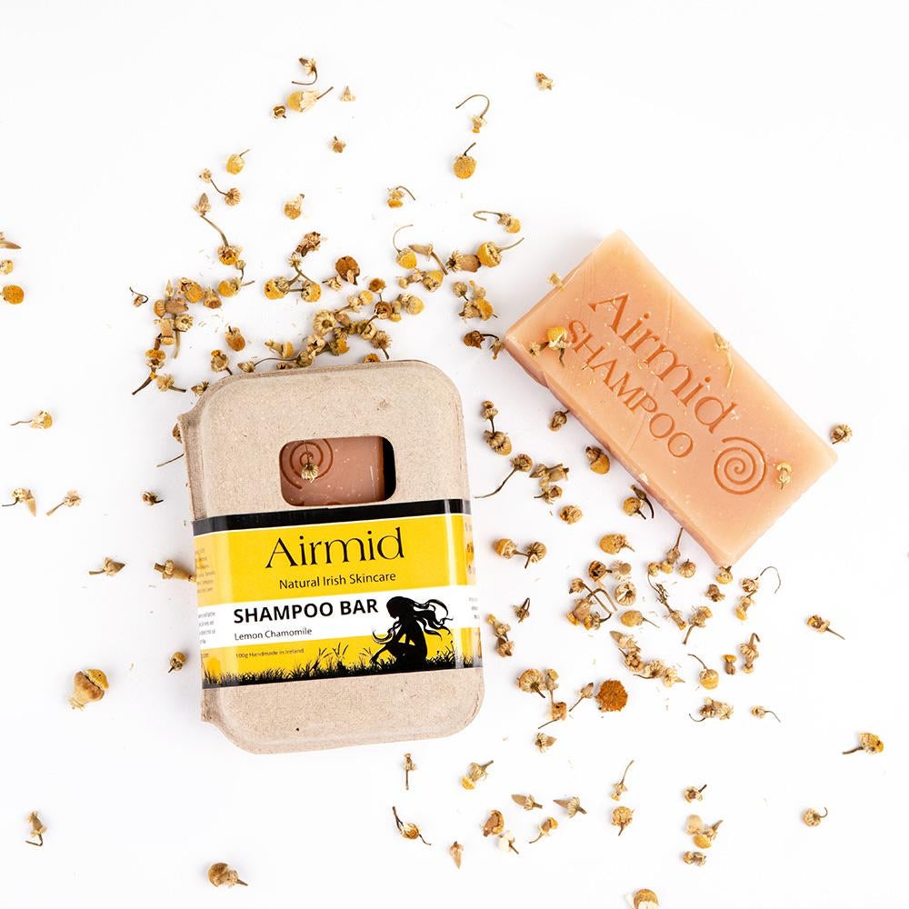 Airmid Natural Lemon Chamomile Shampoo Bar