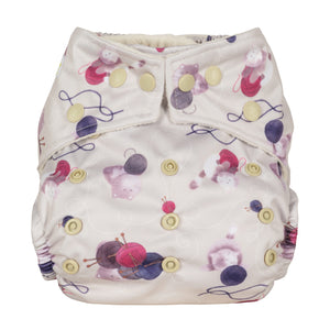 Baba+Boo The Cosy Collection One Size Pocket Nappy
