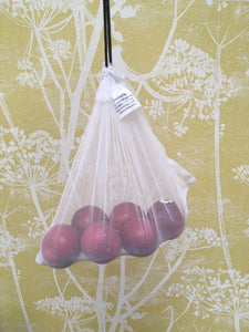 AnniePooh Reusable Produce Bags 5Pack and pouch.