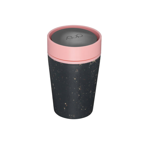 rCUP Black and Pink 8oz - Ecoanniepooh