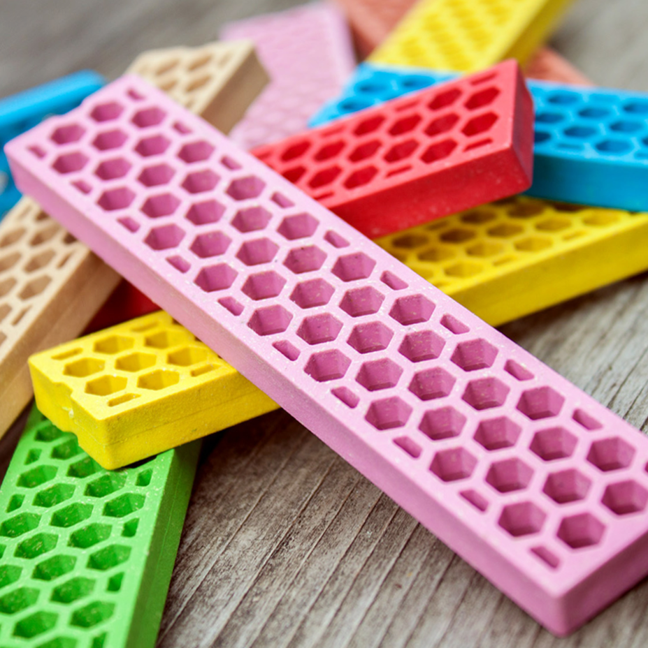 Bioblo eco rainbow construction blocks (40) - Ecoanniepooh