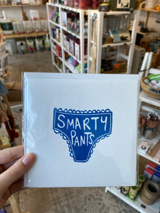 Greetings Card - Smarty Pants
