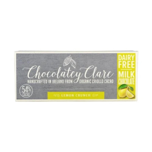 Zero waste Vegan Chocolate bar Lemon Crunch - Ecoanniepooh