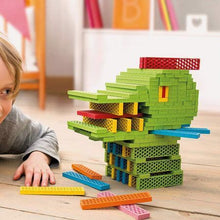 Load image into Gallery viewer, Bioblo eco rainbow construction blocks (40)