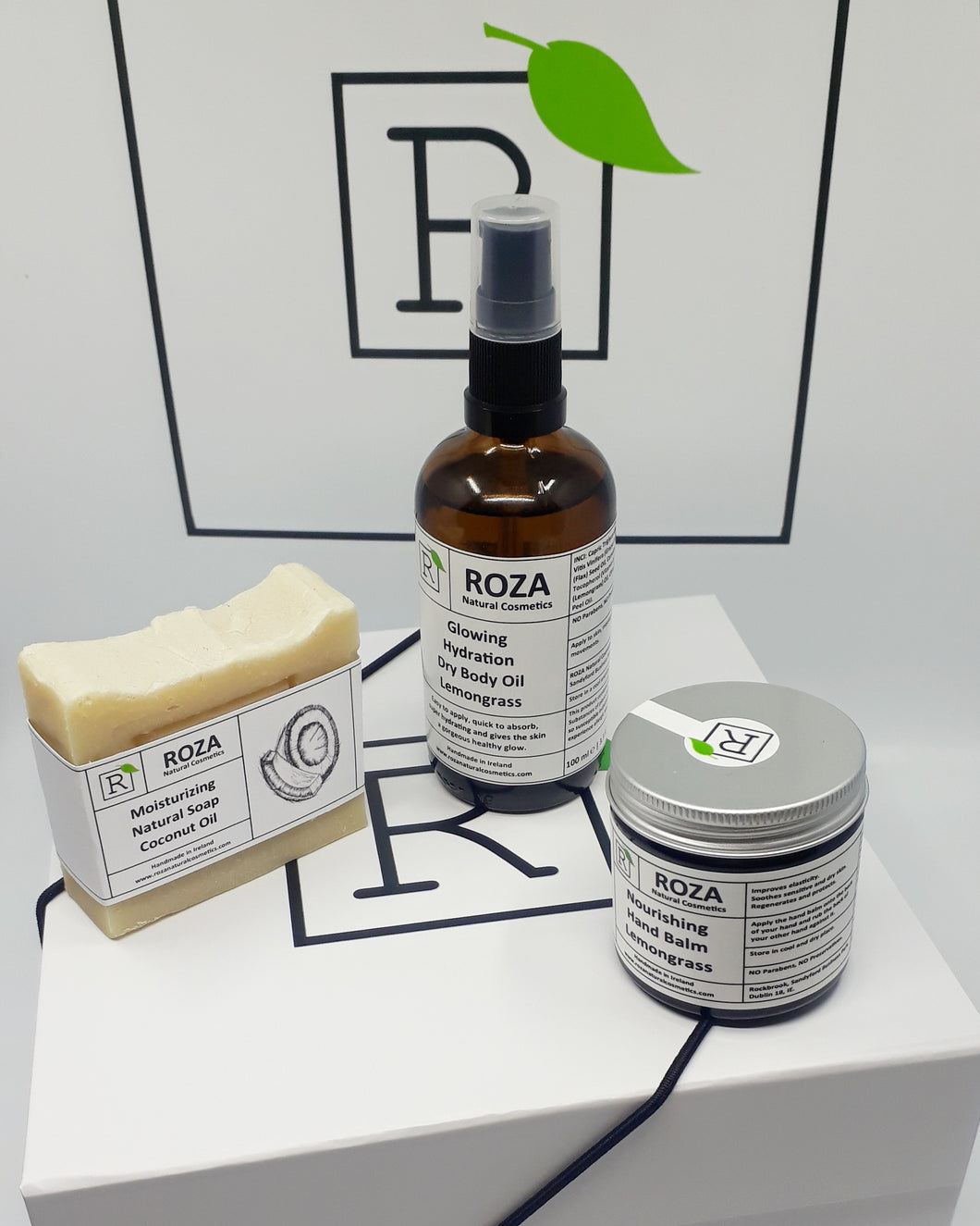 Roza Natural Skincare Hands & Body Gift Box