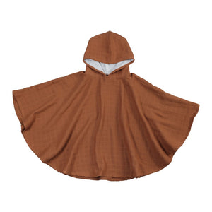 Organic Cotton Poncho (various colours available) - Ecoanniepooh