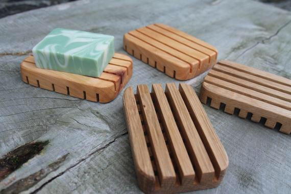 Wild Atlantic Wood Soap Dish