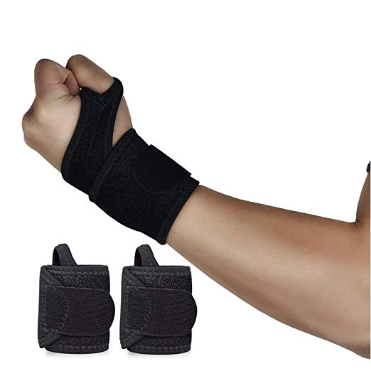 Reversible Sports Wrist Brace, Fitted Right / Left