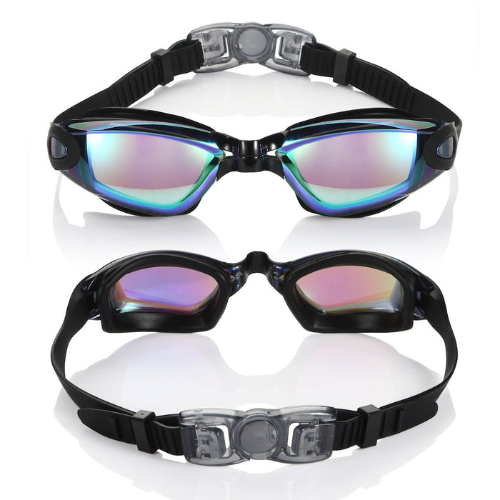 Professional Anti-Fog UV Protection Adjustable Swimming Goggles