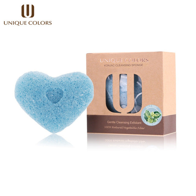 1pcs 100% Natural Konjac Sponge