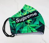 "SHINE- Limited Edition -Reusable Protection Face Mask-""LEAF SUPREME"""