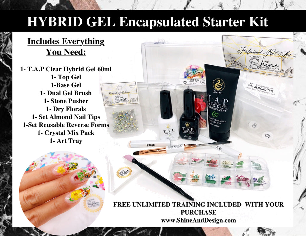 SHINE - Hybrid Gel Encapsulated Kit (SKU: HG-K1)