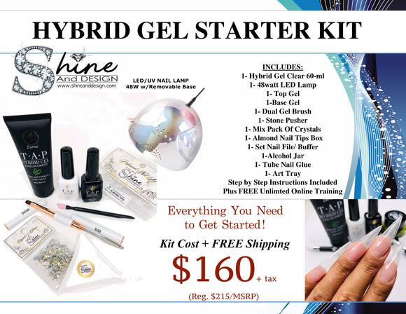 SHINE -  T.A.P Hybrid Gel Beginner's Starter Kit