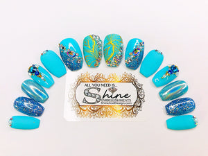 "SHINE & GO- ""Classy Lady"" - #103- Press On Nails"