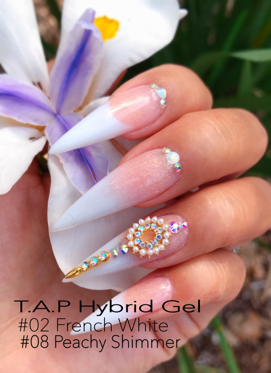T.A.P- HYBRID GEL Nail System- FRENCH SET
