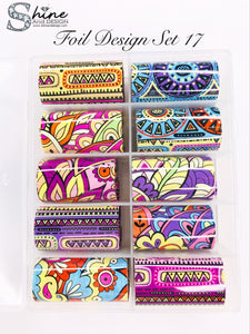 SHINE- Transfer Foil Stamping Designs- Set #17