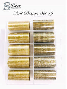 SHINE- Transfer Foil Stamping Designs- Set #19