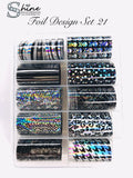 SHINE- Transfer Foil Stamping Designs ( 21 Sets )