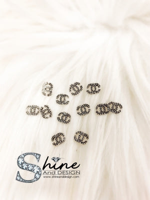 SHINE- Metal Charms with Crystals