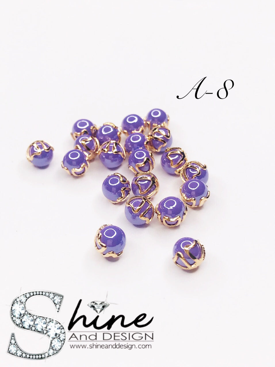 SHINE- Antique Pearls Collection ( 10 AVALIABLE COLOR DESIGNS)