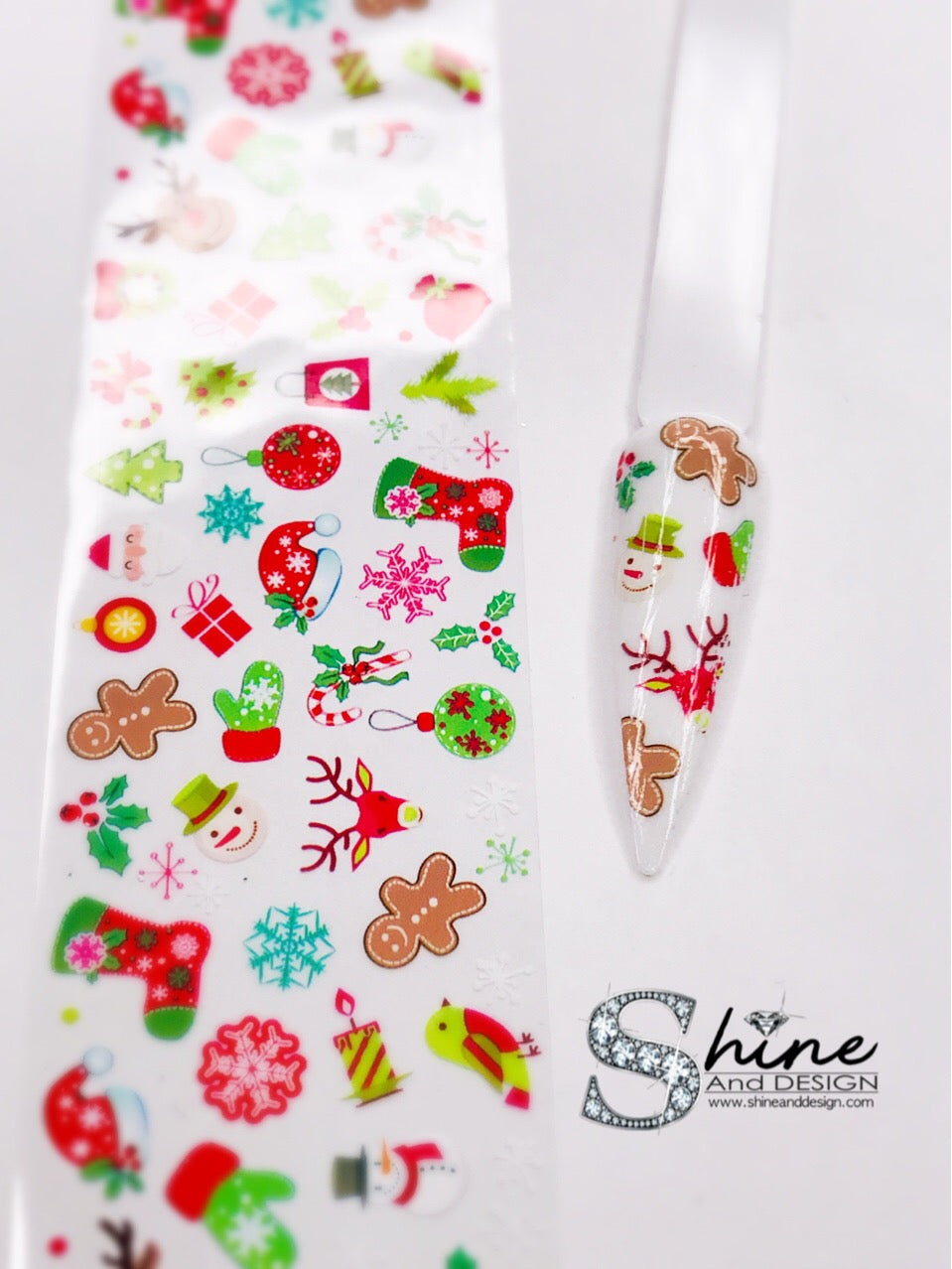 "SHINE- Transfer Foil Stamping Designs- Set #24 ""Holiday Cheer""- Christmas"