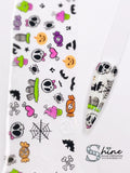 "SHINE- Transfer Foil Stamping Designs- Set #23 ""Hallow Nights""- Halloween"