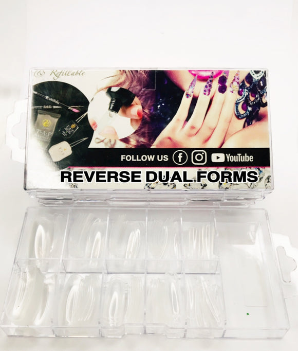 SHINE- Reverse Dual Form Tips- 100pcs- Box Set
