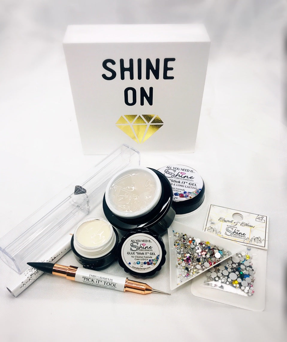 "Diamond Glue Gel Starter Kit- ""STICK iT"" For Rhinestones & Embellishments"