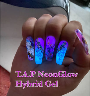 "T.A.P- HYBRID GEL /""NEONGLOW"" Collection 9 COLORS"