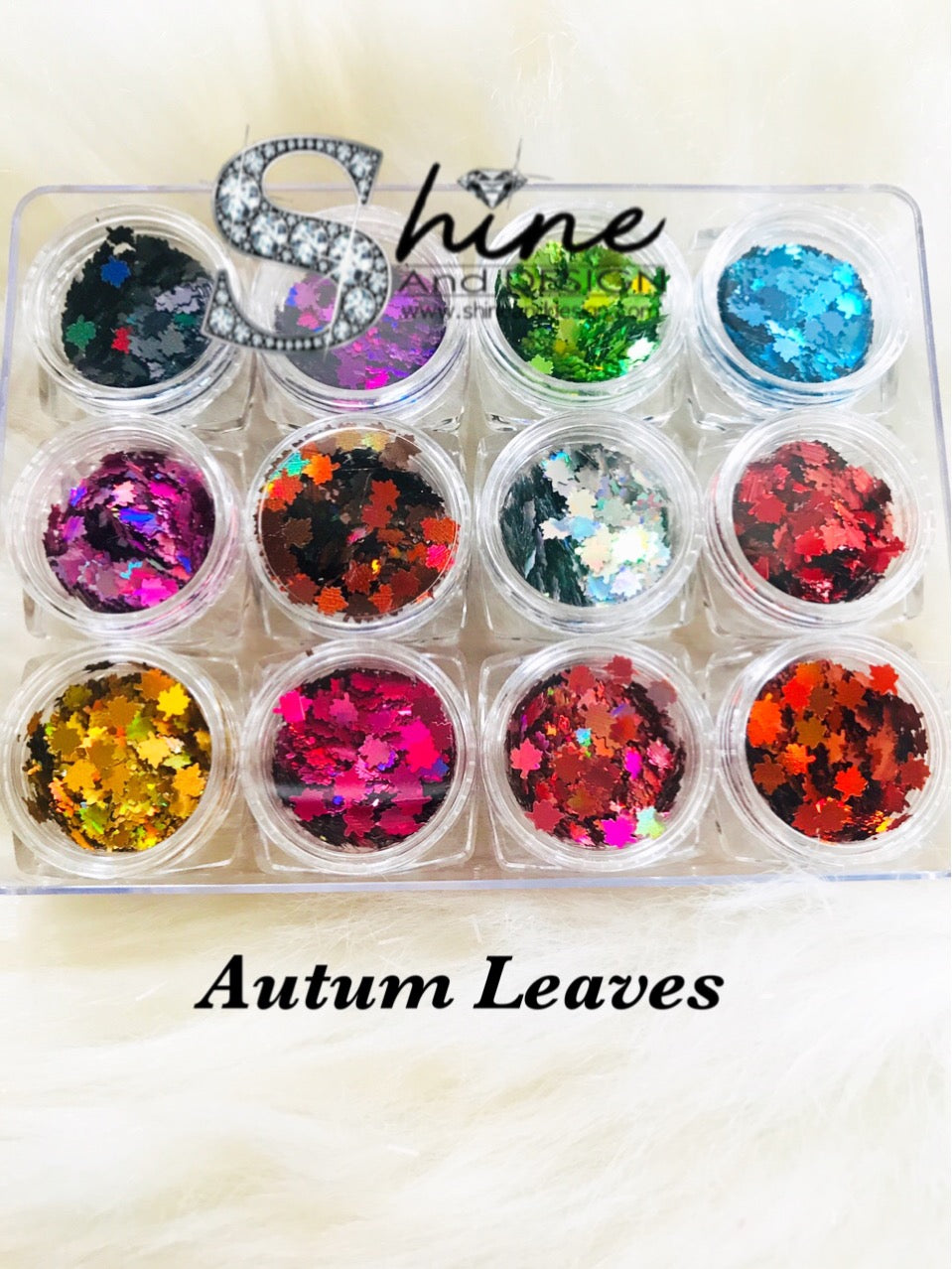 SHINE-Autumn Leaves Mix - 12 Colors Set
