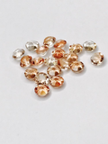 SHINE- Peach TO- pointed back crystals #53