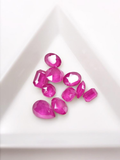 SHINE- Fuchsia MK -Mix Pointed Back Crystals #201