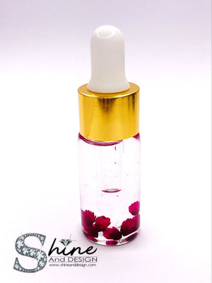 SHINE - Botanical Rose Cuticle Oil- w/Vitamin E & Essential Extracts