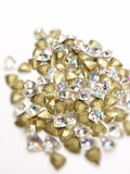SHINE- Crystal AB- 3D Rhinestones- 7mm- FAT TRIANGLE/ #43-AB