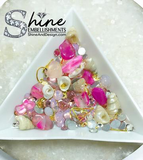 """By The Sea"" Crystals & Shell Decorations-#S3"
