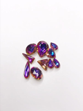 SHINE- Violet Blue -Mix Pointed Back Crystals #222