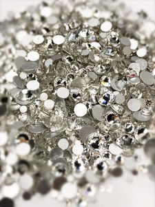 SHINE- Crystal Clear- Mix Foil Back Crystal Rhinestones #162