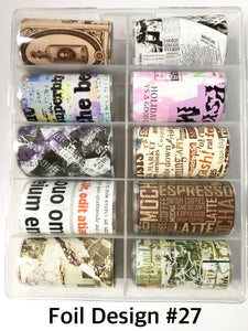 SHINE- Transfer Foil Stamping Designs- Set #27