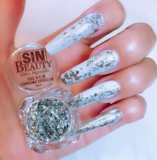 SILVER FLAKE  2 IN 1-Chrome- 100% pigments