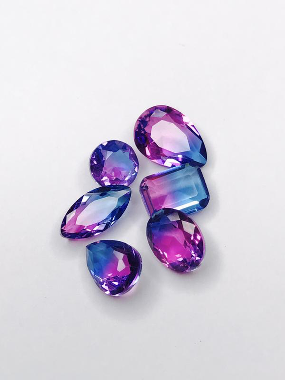 SHINE- Violet Blue -TO Pointed Back Crystals #51